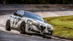 Кроссовер Alfa Romeo Stelvio побил рекорд Нордшляйфе