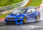 В Subaru сделали 600-сильный WRX STI для рекорда Нюрбургринга