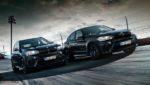 Фирма BMW облачила X5 M и X6 M во всё чёрное