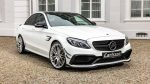 Mercedes-AMG C63 Sнаучили разгоняться до330 километров вчас